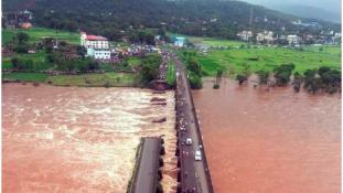 Hídomlás Indiában: 22-en eltűntek