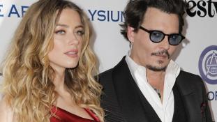 Jótékonykodásra költi a válás után Johnny Depptől kapott 7 millió dollárt Amber Heard