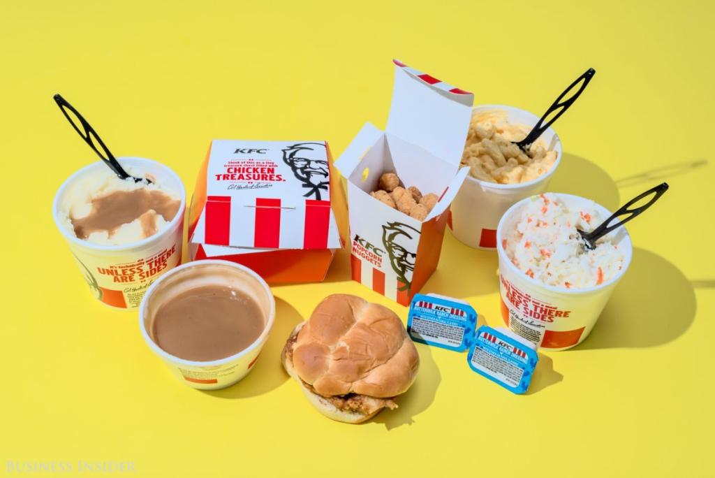 KFC - 2940 kalória