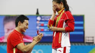 Lánykérés az olimpián