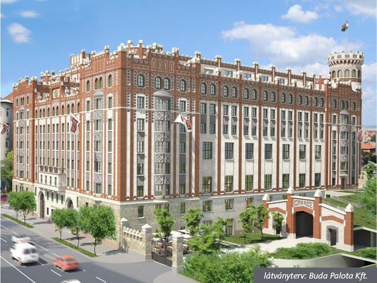 Itt pedig a megújult épület látványtervét láthatjuk.