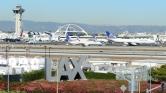 Pánik a reptéren Los Angelesben