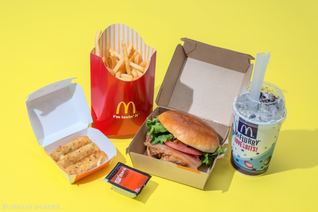 McDonald's - 2010 kalória