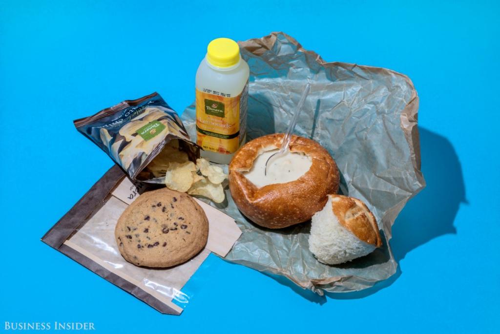 Panera Bread - 20160 kalória