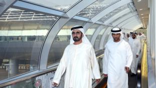 Személyesen buktatta le a lógós főnököket Dubaj uralkodója