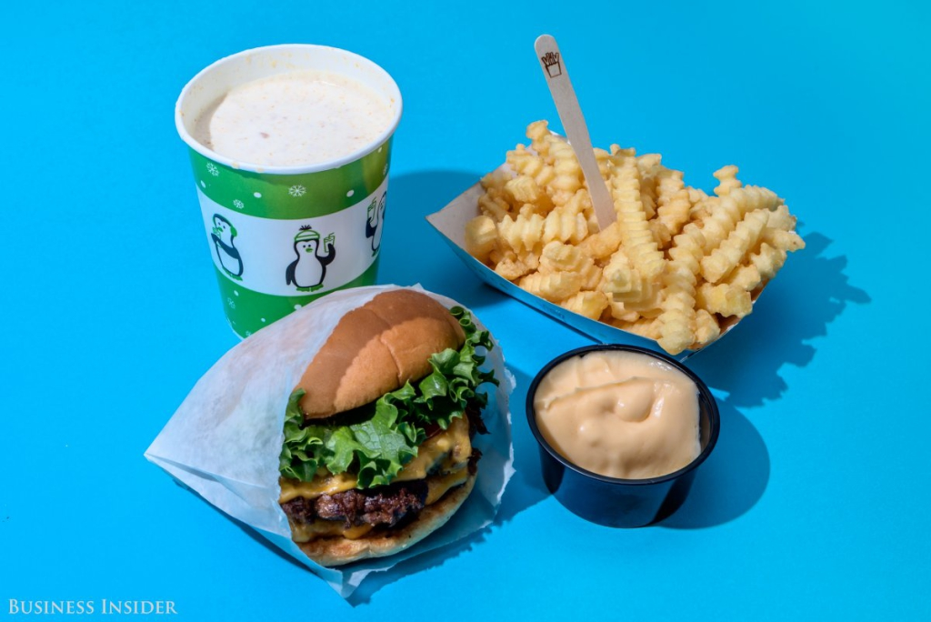 Shake Shack - 2200 kalória
