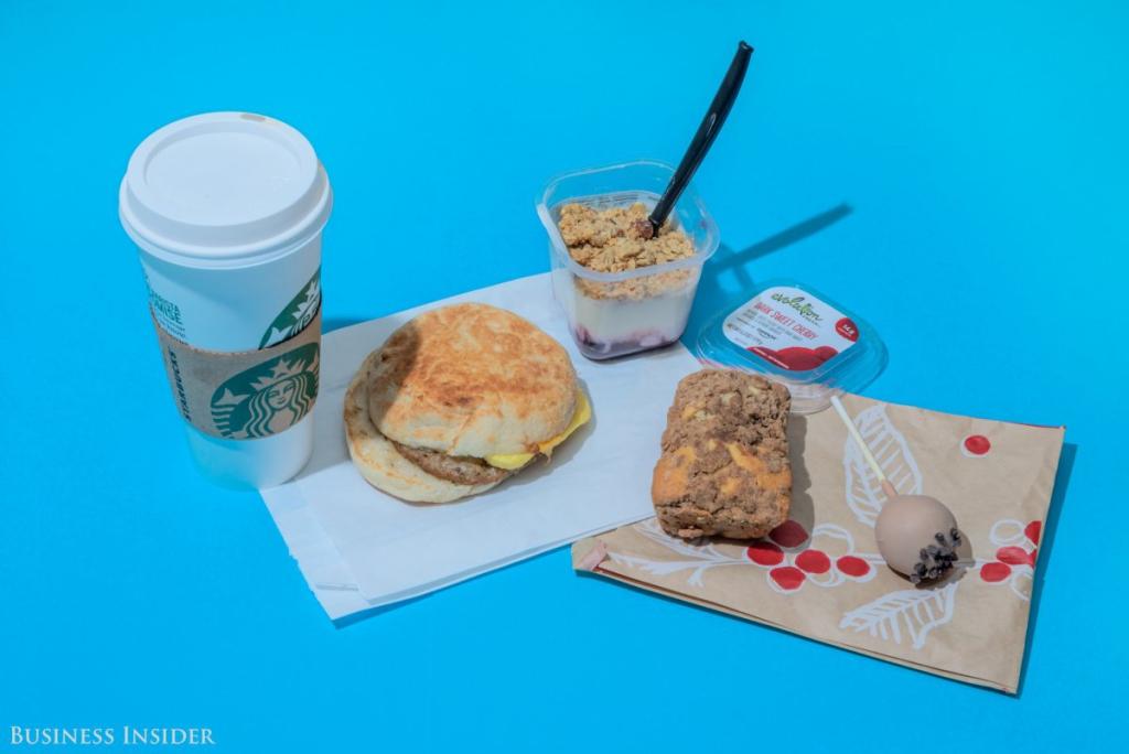 Starbucks - 2030 kalória