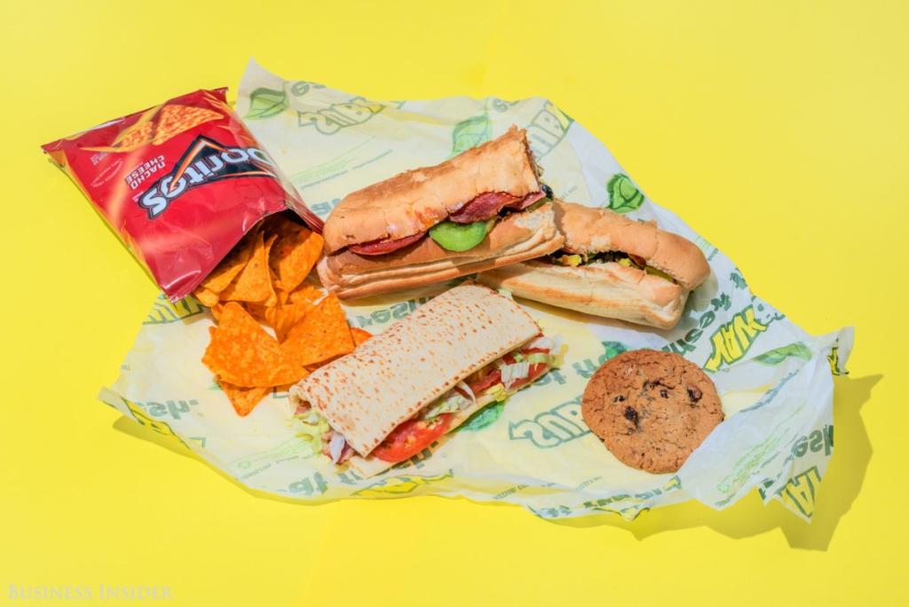Subway - 2010 kalória
