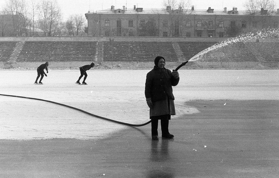 Jégpálya - Novokuznyeck, 1984