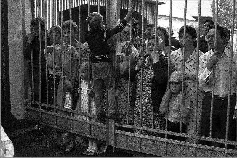 Nyílt nap az úttörőtáborban - Zenkovo, 1985