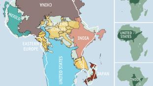 India, Kína és az USA is elférne rajta: mekkora valójában Afrika?