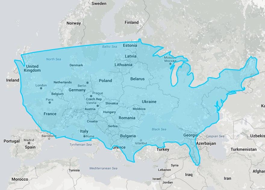Európán az Egyesült Államok