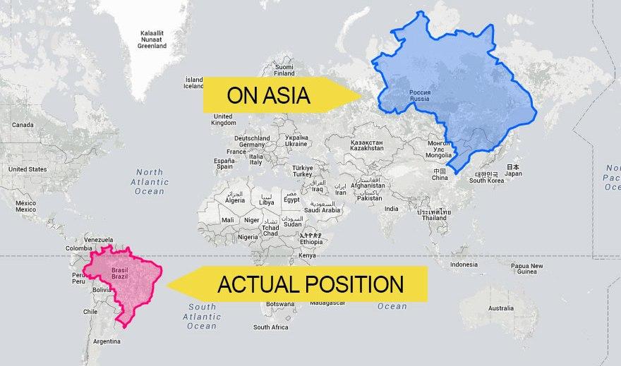 Brazília Oroszországon