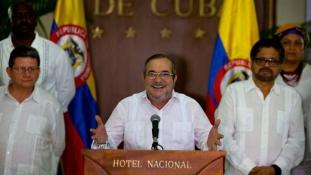 Életbe lépett az 52 éve várt tűzszünet Kolumbiában
