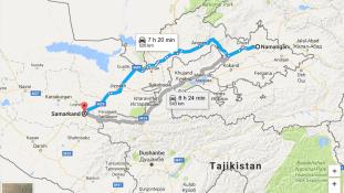 500 kilométer: biciklivel zarándokol az üzbég elnök sírjához egy nyugdíjas