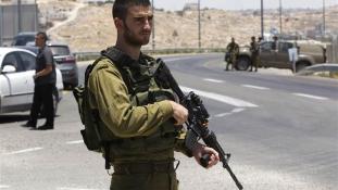 Lelőttek egy szökni próbáló palesztint az izraeli katonák