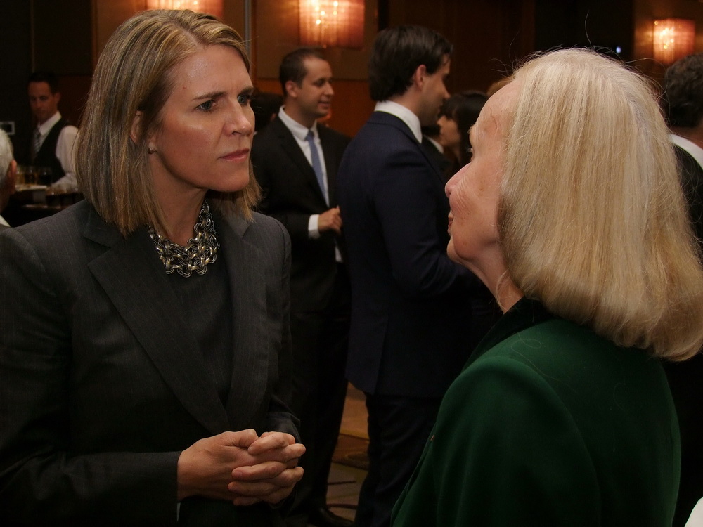 Colleen Bell amerikai nagykövetasszony.