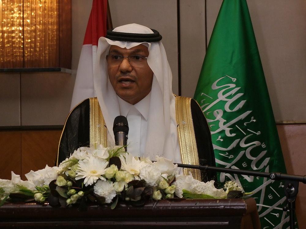 Mohammed Abdulhadi Almatrafi, a házigazda szaúdi nagykövet úr.