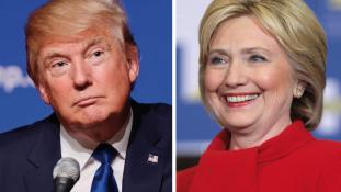 Clinton nyerhette az elsőt
