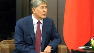 Moszkvában ápolják a kirgiz elnököt
