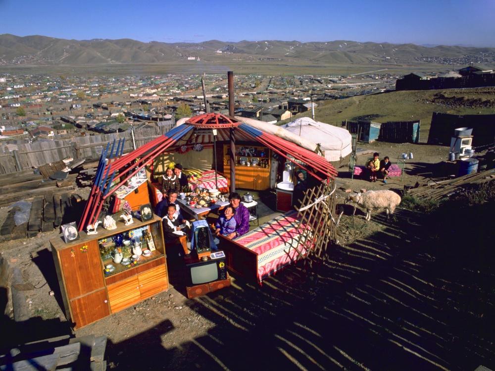 Ulánbátor közelében - Mongólia