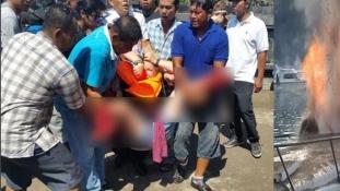 Tűz a turistahajón Bali közelében – egy nő meghalt