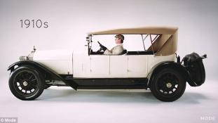Így változott a szépségideál az autóknál – videó