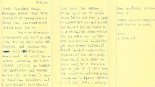 Kedves Obama elnök! – a hatéves Alex otthont kínál egy szíriai kisfiúnak