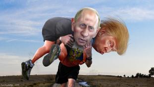 Trump: Putyin jobb vezető Obamánál