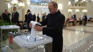 Így végzett Putyin pártja a tegnapi választáson