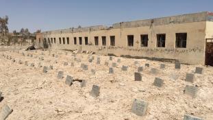 Külföldi ISIS-harcosok temetője Fallúdzsában