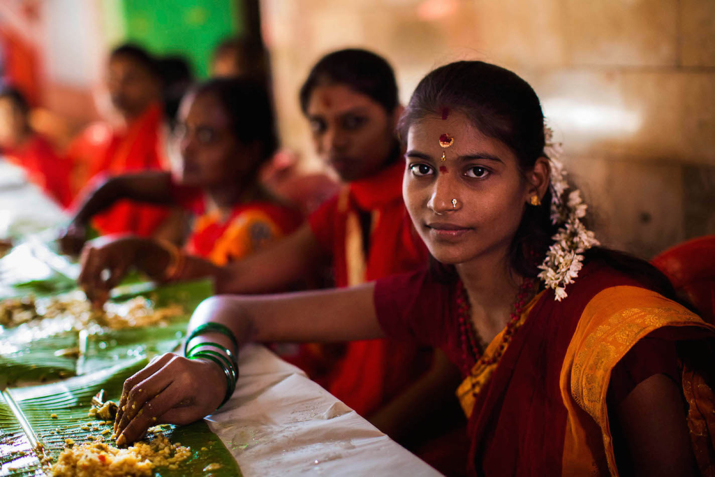 Tamil lány Mumbaiban