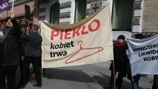 """""""Nem szülök többet, ha betiltják az abortuszt"""" – interjú egy lengyel anyával, még a kormánydöntés előtt"""
