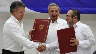 Hiába bukott meg a népszavazáson a béke – a kolumbiai elnöké a Nobel-békedíj