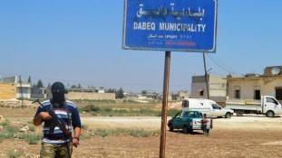 Lázadók foglalták el az apokaliptikus prófécia városát az Iszlám Államtól