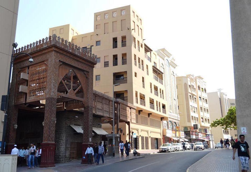 Egy régi piac bejárata