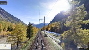 Mától vonattal is tervezhetünk a Google térképén