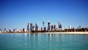 Kukásautó támadt amerikai katonákra Kuvaitban
