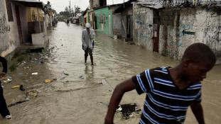 Kolerajárvány fenyegeti Haitit a Matthew forgószél után