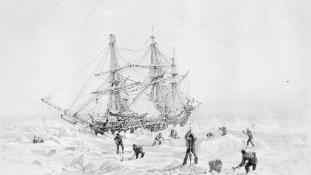170 év hullámsír után még mindig úszna Franklin megkerült hajója