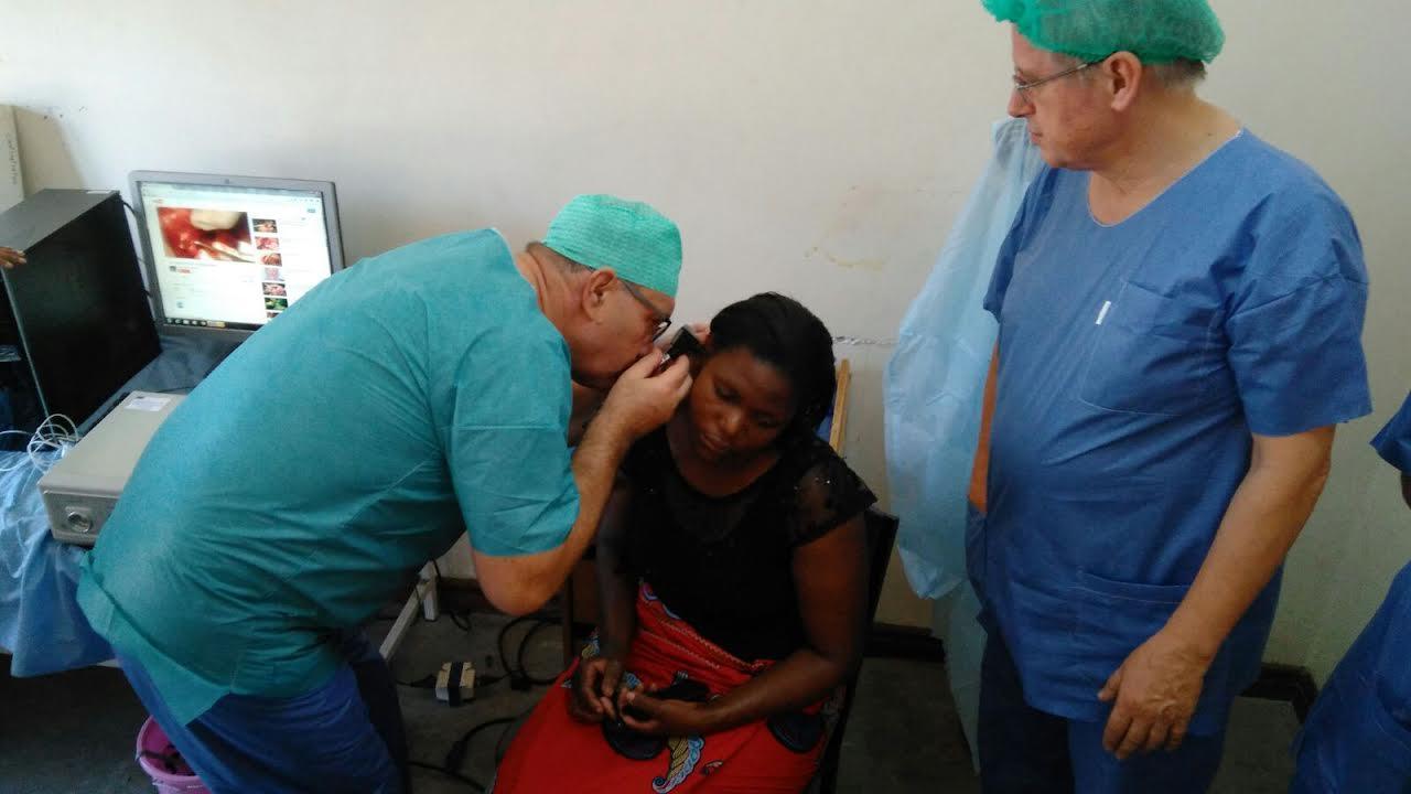 Vizsgálat műtét előtt.