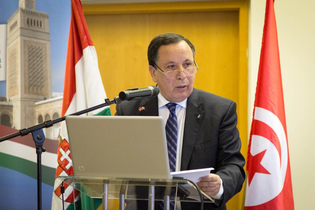 Khémaies Jhinaoui, külügyminiszter, Tunézia