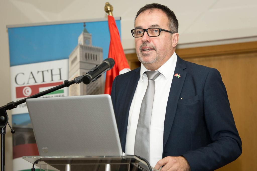 Balogh Sándor, társelnök, Magyar-Tunéziai Üzleti Tanács