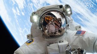 Így szavaz majd kedden az amerikai űrhajós az űrből