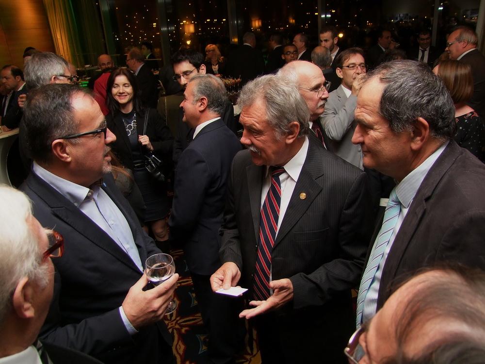 Balogh Sándor, Farkas Bertalan és Kiss Zoltán, a BKIK elnöke.