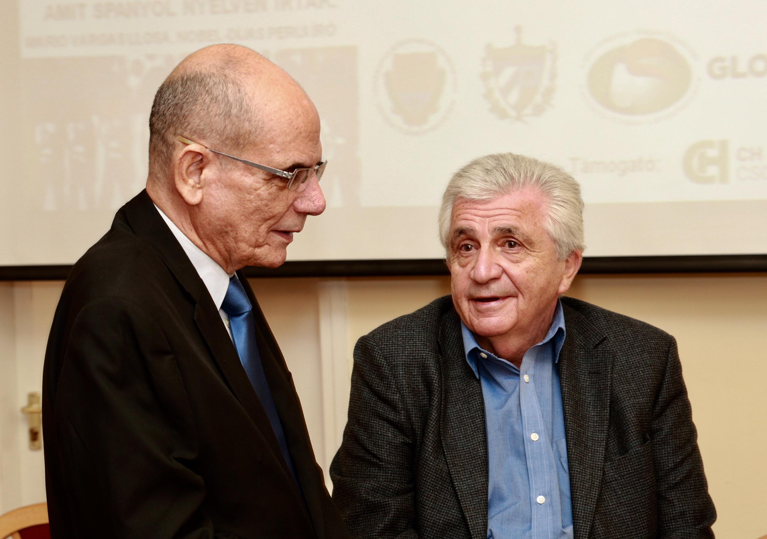 A nagykövet és Horváth János.