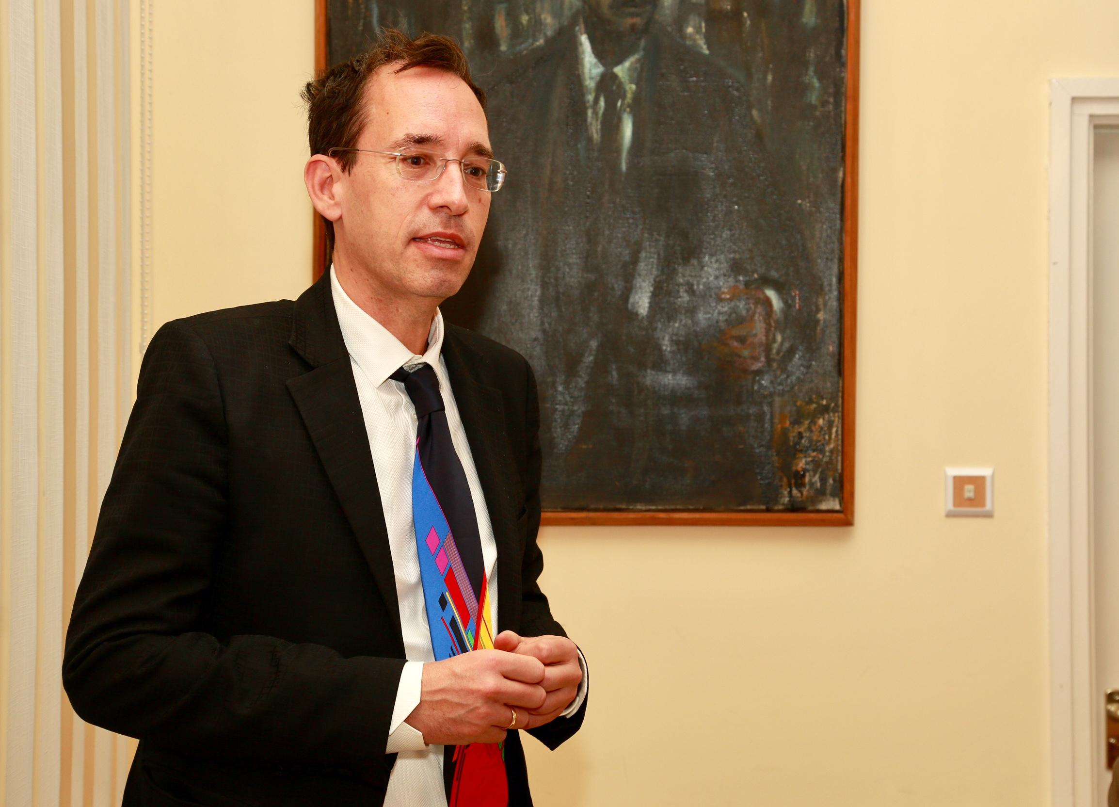 Dr. Kiss Róbert Richard, a Globoport Médiaholding igazgatója.
