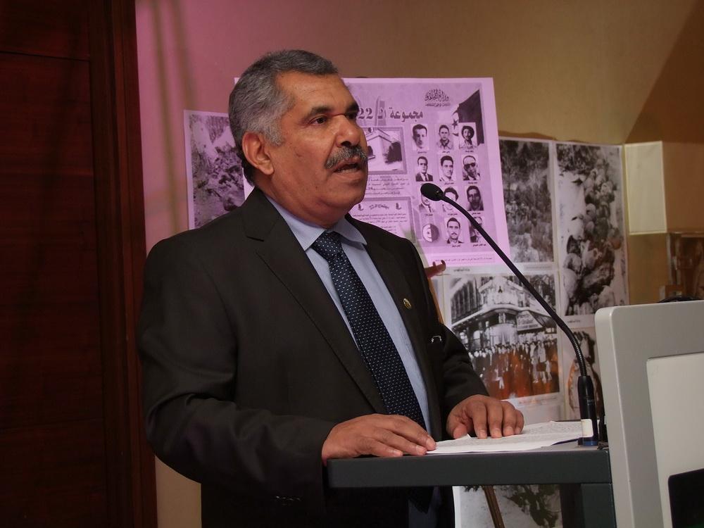 Abdelkader Denhendi nagykövet.