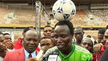Hajmeresztő világrekordra készül egy nigériai sportoló