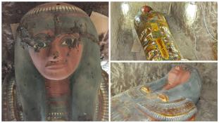 Több mint 2 és félezer éves múmiát találtak spanyol régészek Luxorban